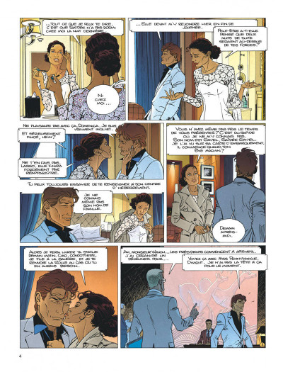 Page 4 Largo Winch tome 20