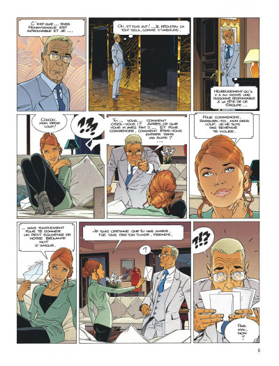 Page 5 Largo Winch tome 20