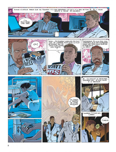 Page 8 Largo Winch tome 20