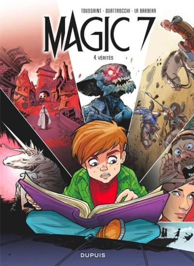 Couverture Magic 7 tome 4