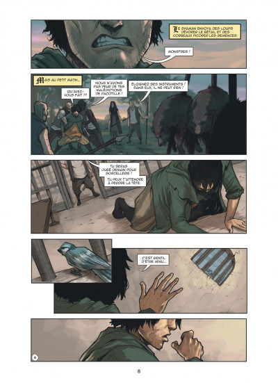 Page 8 Magic 7 tome 4