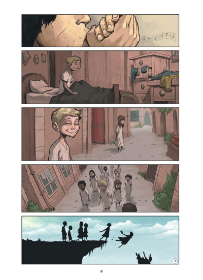 Page 9 Magic 7 tome 4