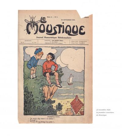Page 4 200 couvertures inédites pour le journal le Moustique