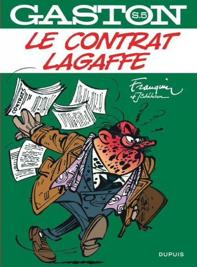 Couverture Gaston - hors série tome 5 - le contrat Lagaffe