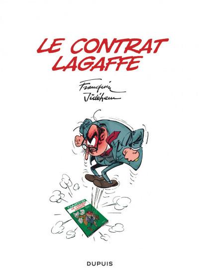 Page 1 Gaston - hors série tome 5 - le contrat Lagaffe