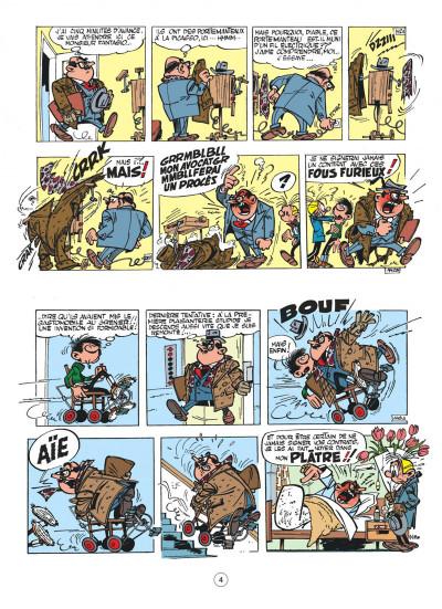 Page 4 Gaston - hors série tome 5 - le contrat Lagaffe