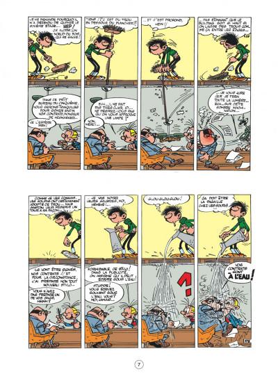 Page 7 Gaston - hors série tome 5 - le contrat Lagaffe