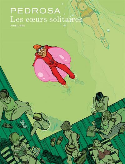 Couverture Les coeurs solitaires - édition 2015