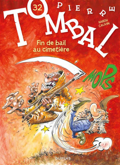 Couverture Pierre Tombal tome 32