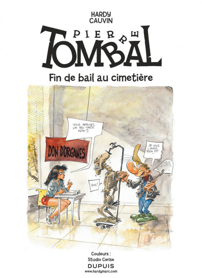 Page 1 Pierre Tombal tome 32