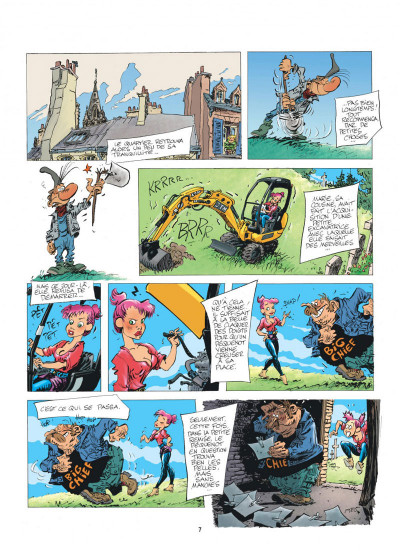 Page 7 Pierre Tombal tome 32