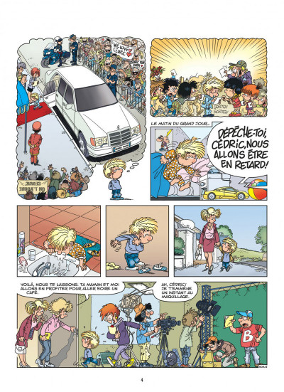 Page 4 Cédric tome 30