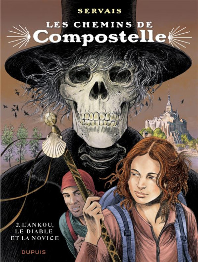 Couverture Les chemins de compostelle tome 2 - édition spéciale