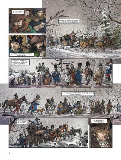 Page 4 Bérézina tome 3