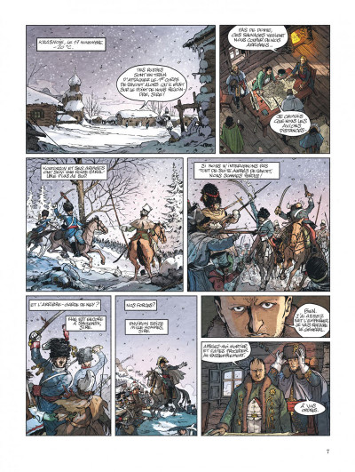 Page 7 Bérézina tome 3