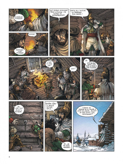 Page 8 Bérézina tome 3