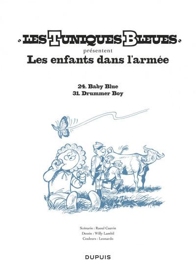 Page 1 Les tuniques bleues présentent tome 6 - Les enfants dans l'armée