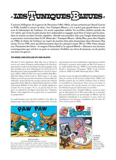 Page 4 Les tuniques bleues présentent tome 6 - Les enfants dans l'armée
