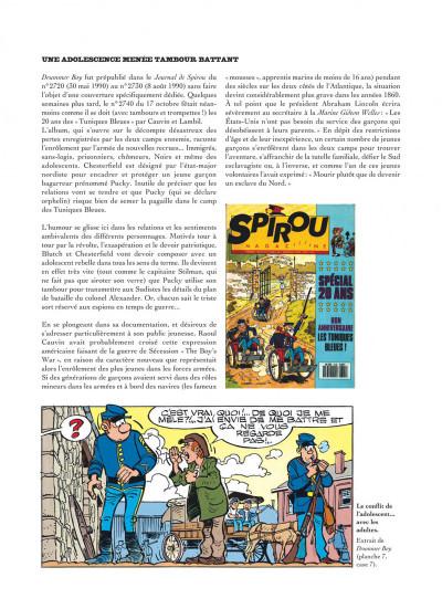Page 7 Les tuniques bleues présentent tome 6 - Les enfants dans l'armée
