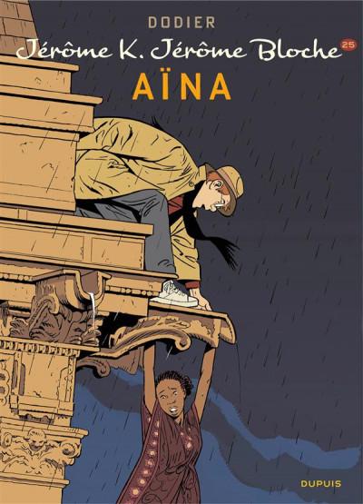 Couverture Jérôme K. Jérôme Bloche tome 25 - Aïna (édition spéciale)