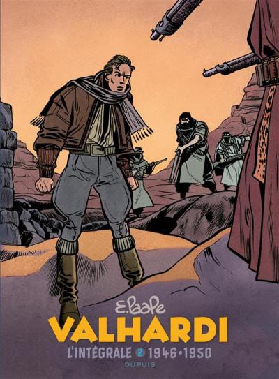Couverture Valhardi - intégrale tome 2