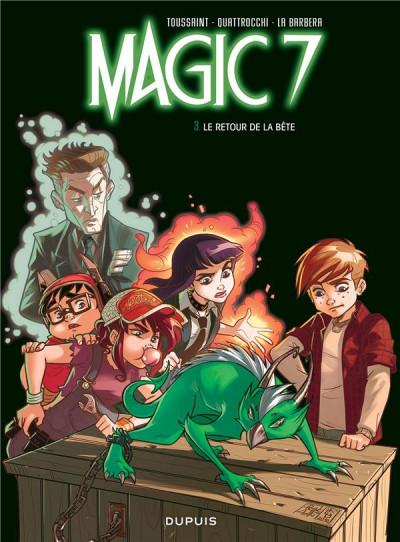 Couverture Magic 7 tome 3