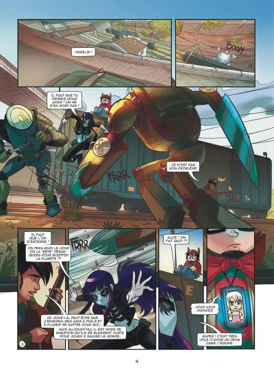 Page 4 Magic 7 tome 3