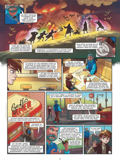 Page 7 Magic 7 tome 3