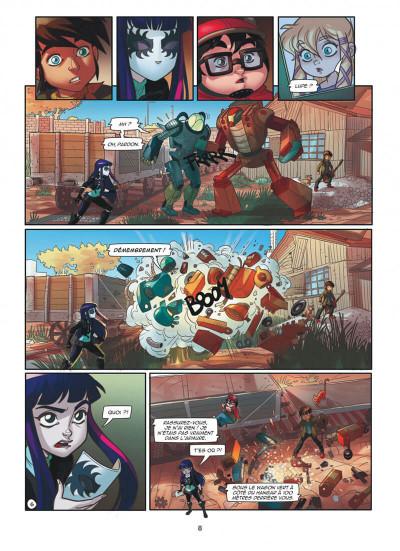 Page 8 Magic 7 tome 3