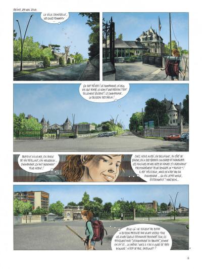 Page 5 Les chemins de Compostelle tome 3