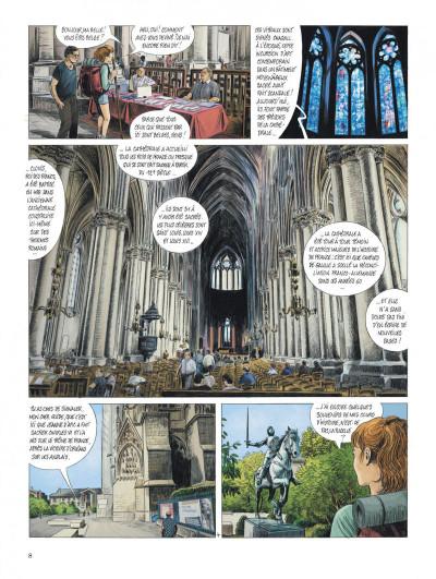 Page 8 Les chemins de Compostelle tome 3