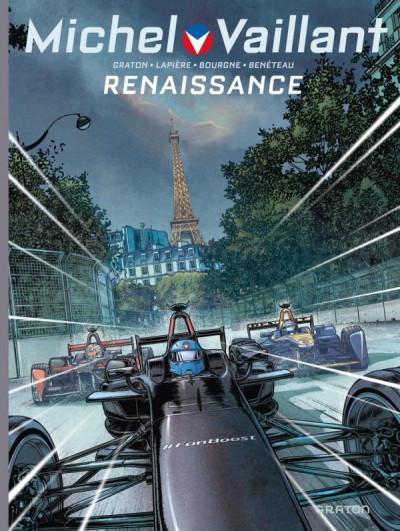 Couverture Michel Vaillant - nouvelle saison tome 5 - Renaissance