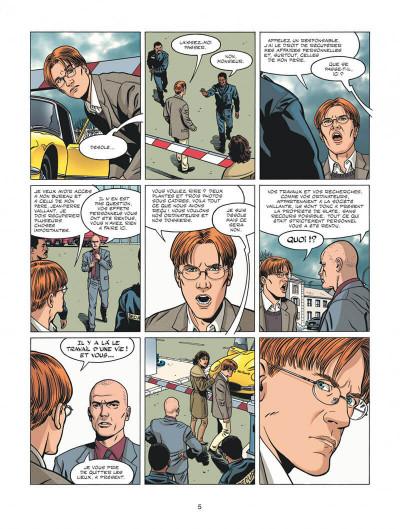 Page 2 Michel Vaillant - nouvelle saison tome 5 - Renaissance