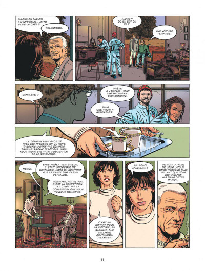 Page 8 Michel Vaillant - nouvelle saison tome 5 - Renaissance