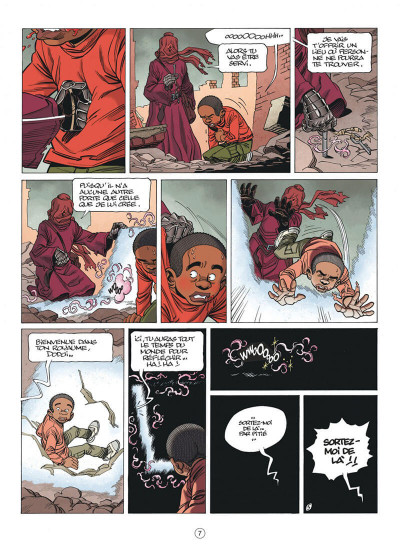 Page 7 Seuls tome 10 - La machine à démourir + ex-libris offert