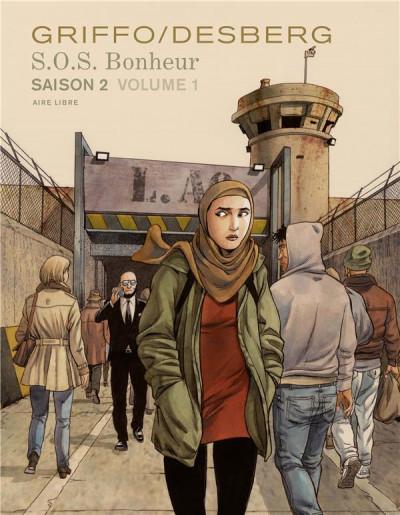 Couverture SOS bonheur - saison 2 tome 1