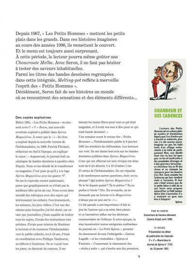 Page 5 Les petits hommes - intégrale tome 8