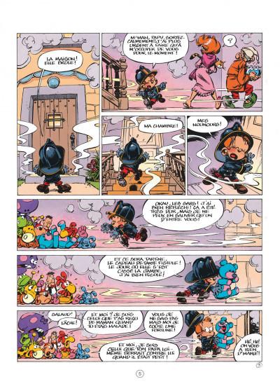 Page 5 Le Petit Spirou présente... tome 7