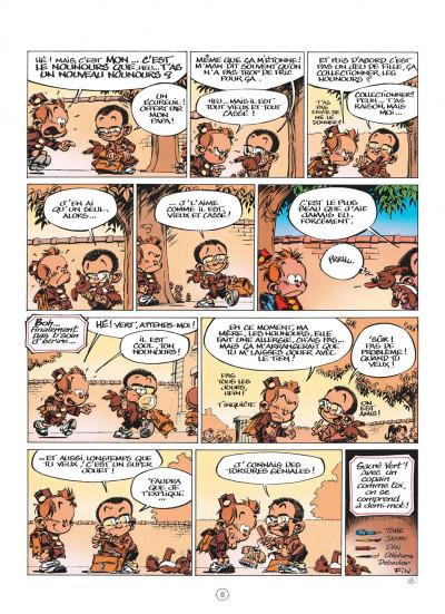 Page 8 Le Petit Spirou présente... tome 7