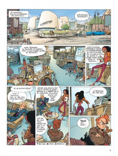Page 9 Spirou et Fantasio vu par... tome 10