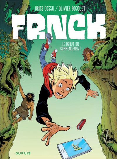 Couverture Frnck tome 1