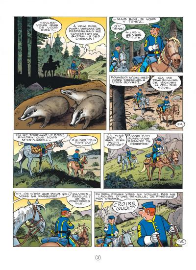 Page 3 Les tuniques bleues tome 61