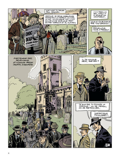 Page 9 Choc - les fantômes de Knightgrave tome 3 + ex-libris offert