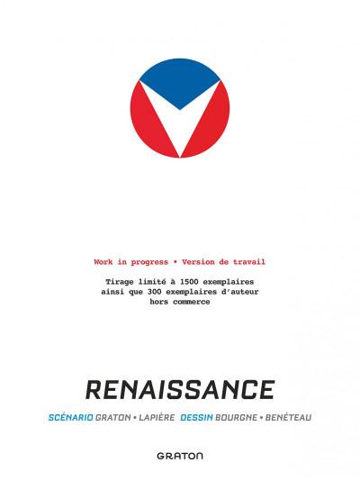 Page 1 Michel Vaillant - nouvelle saison tome 5 - Renaissance (work in progress)
