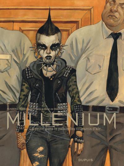 Couverture Millenium - intégrale tome 3