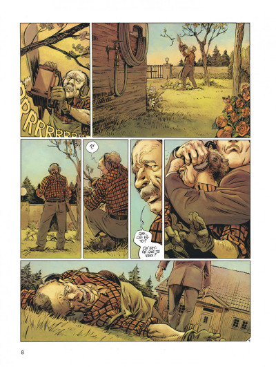 Page 8 Millenium - intégrale tome 3
