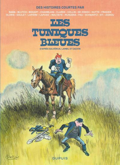 Couverture Des histoires courtes des tuniques bleues
