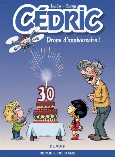 Couverture Cédric best-of tome 8