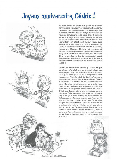 Page 2 Cédric best-of tome 8