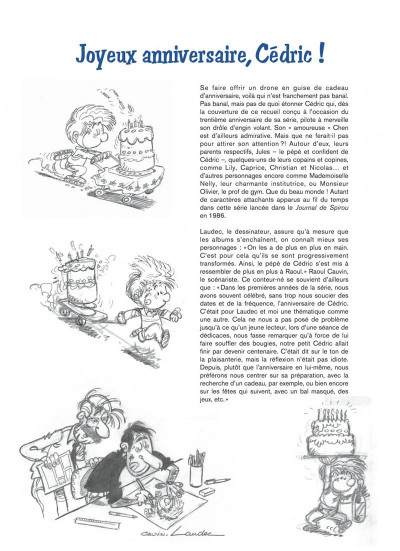 Page 3 Cédric best-of tome 8